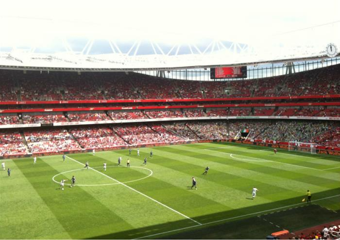 Image result for arsenal fc club premium seating