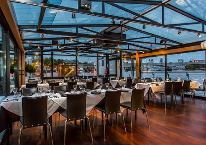 Bateaux London Thames Dinner Cruise Golden Tours
