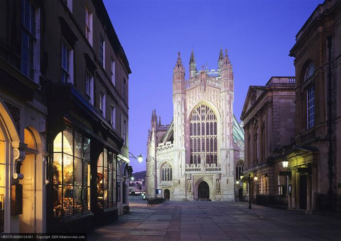 Bath Abbey and Pump Rooms
