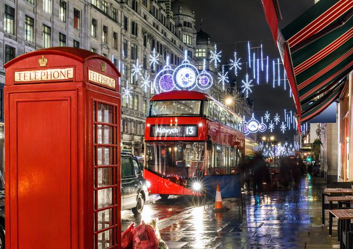 Christmas Lights Tour London