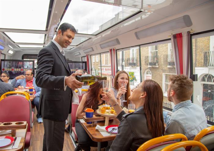 Festive Afternoon Tea Bus Tour