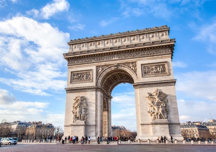 Lopen Tour Paris Map.Free Easy Day Trip To Paris With Open Top Bus Tour Standard
