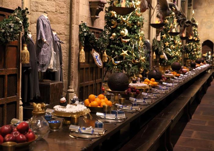 Great Hall at Christmas