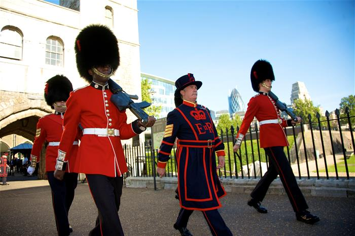 Yeoman Guards and Beefeater