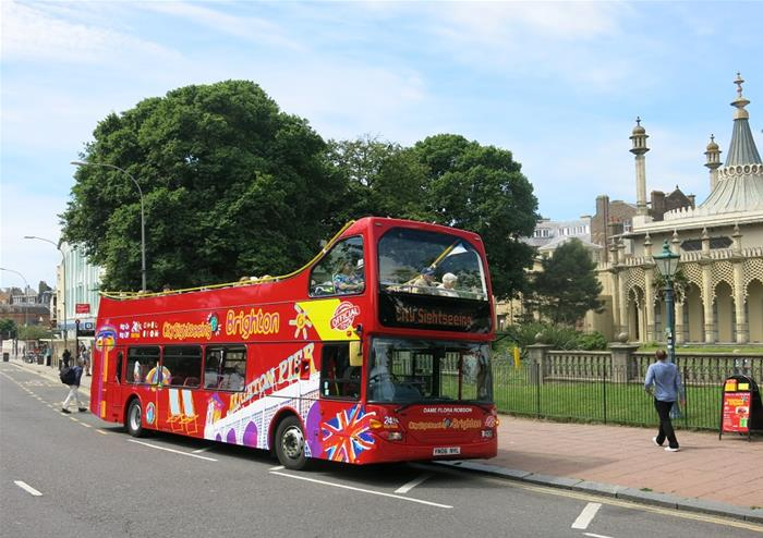 Hop-on Hop-off Bus Tour of Brighton