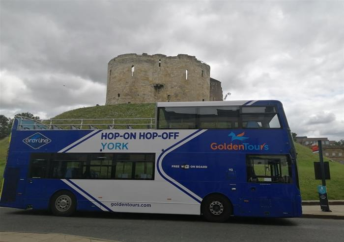 Hop-on Hop-off Open Top Tour of York