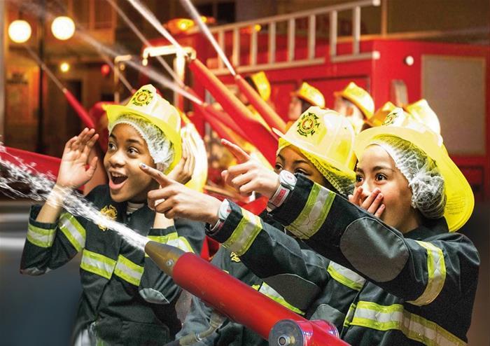 Kidzania Fire Kids