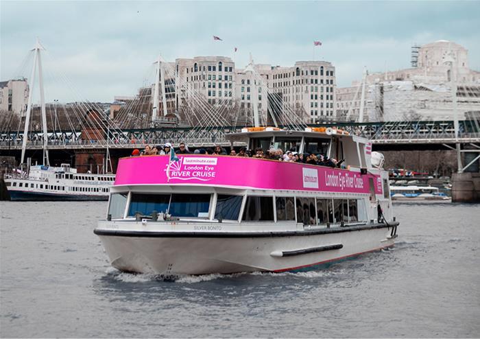 LondonEye river cruise