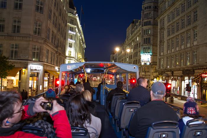 London By Night Open Top Bus Sightseeing Tour Book Your Tour