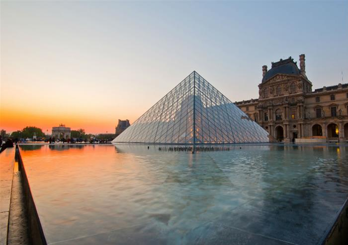 guided tour of paris and entry to the louvre museum