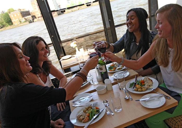 Lunch Cruise on the River Thames
