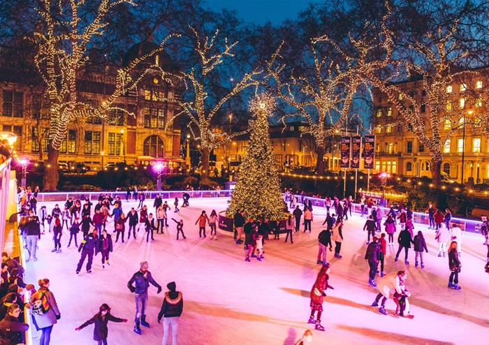 Image result for natural history museum ice rink