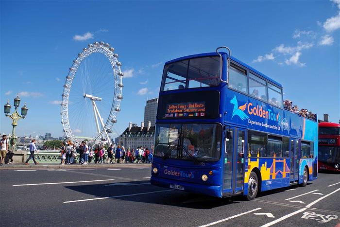One Day Hop on Hop off London Bus Tour Ticket with Return Cruise