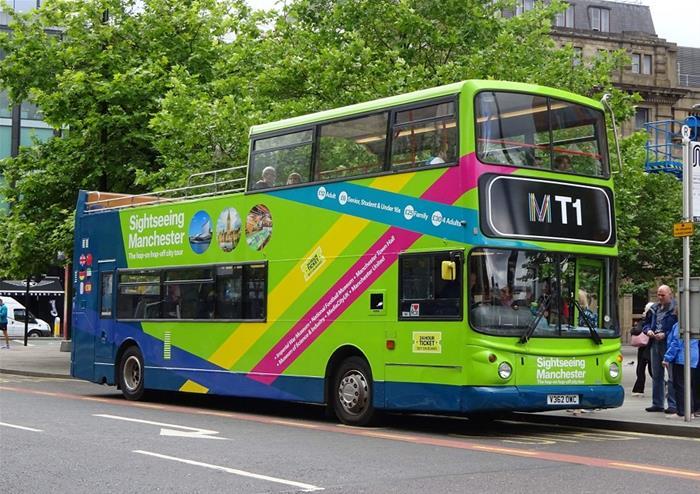 Open Top Bus Tour In Manchester Golden Tours London