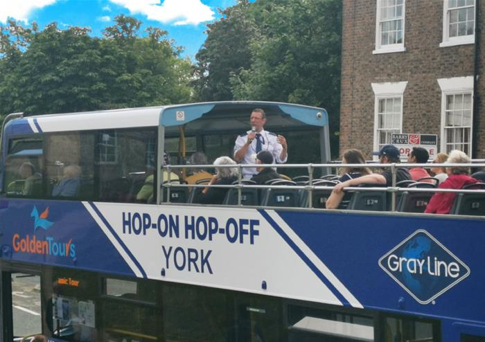Open Top Tour of York