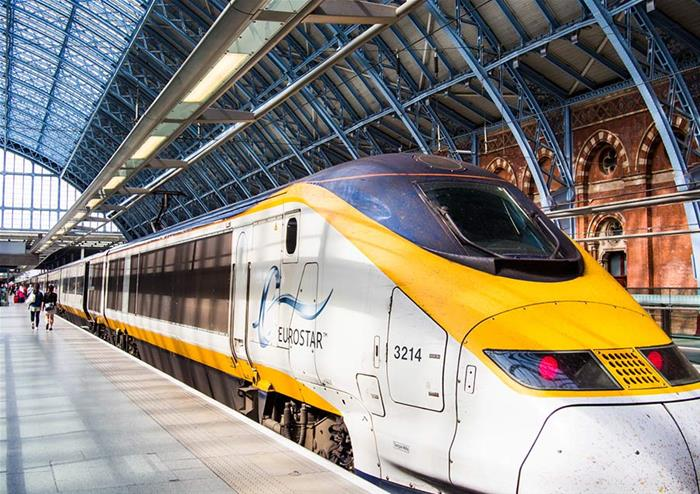 Paris Eurostar Journey