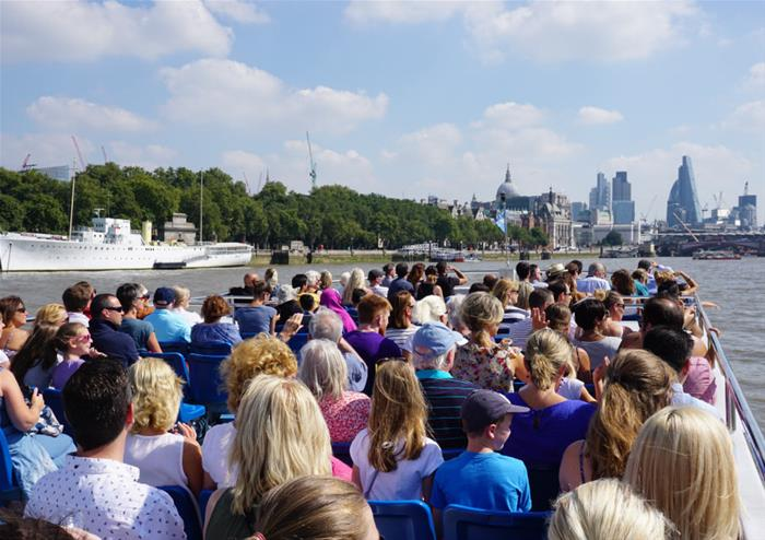 Sightseeing Cruise on the Thames