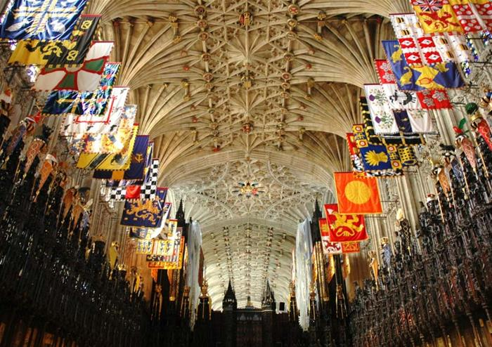 St George's Chapel inside the castle