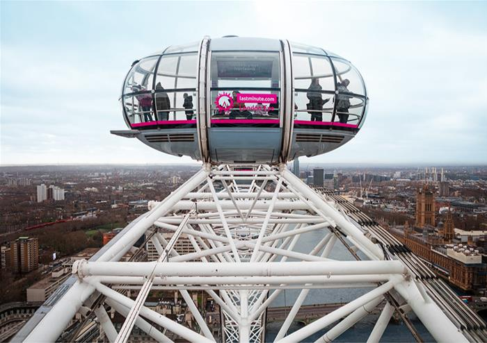 The lastminute.com London Eye Same Day Ticket