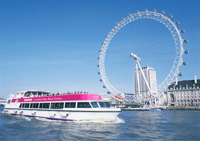 The lastminute com London Eye River Cruise