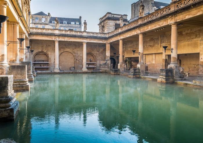 Tour of Roman Baths