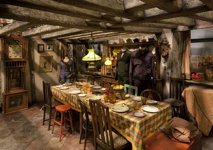 Western themed room western theme for house pinterest - Warner Bros Studio Tour London Les Coulisses De Harry