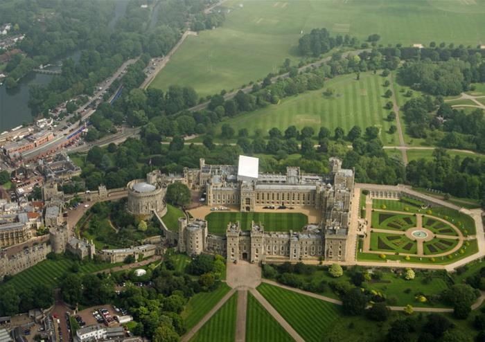 Windsor Castle and Roman Baths