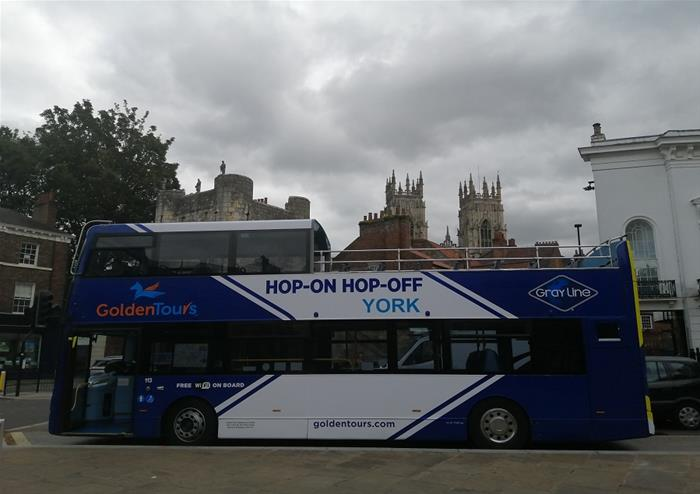 York Open Top Bus Tour and Cruise